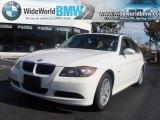 2007 Alpine White BMW 3 Series 328xi Sedan #20448523