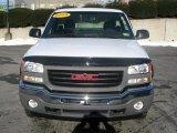 2005 Summit White GMC Sierra 1500 Work Truck Regular Cab 4x4 #2039898