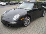 2008 Black Porsche 911 Carrera S Cabriolet #20538406