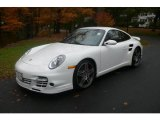 2008 Carrara White Porsche 911 Turbo Coupe #20523578