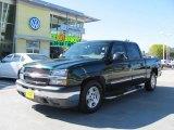 2005 Dark Green Metallic Chevrolet Silverado 1500 LS Crew Cab #20534542