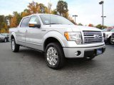 2010 Ingot Silver Metallic Ford F150 Platinum SuperCrew 4x4 #20455036