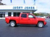 2009 Victory Red Chevrolet Silverado 1500 LT Z71 Crew Cab 4x4 #20461724