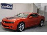 2010 Inferno Orange Metallic Chevrolet Camaro LT/RS Coupe #20462242