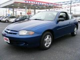 2003 Arrival Blue Metallic Chevrolet Cavalier Coupe #20520193