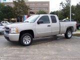 2008 Silver Birch Metallic Chevrolet Silverado 1500 LS Extended Cab #20536647