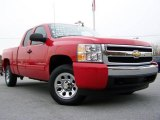 2008 Victory Red Chevrolet Silverado 1500 LT Extended Cab #20522027