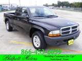 2004 Black Dodge Dakota SXT Club Cab #20532206