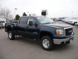 2009 Midnight Blue Metallic GMC Sierra 2500HD SLE Crew Cab 4x4 #20522094
