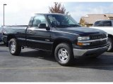 2000 Onyx Black Chevrolet Silverado 1500 Regular Cab 4x4 #20605465