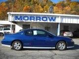 2003 Superior Blue Metallic Chevrolet Monte Carlo SS Jeff Gordon Signature Edition #20605336