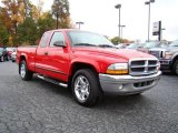 2004 Flame Red Dodge Dakota Club Cab #20607179