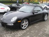Basalt Black Metallic Porsche 911 in 2007