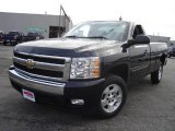 2008 Black Chevrolet Silverado 1500 LT Regular Cab #20598327