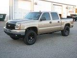 2006 Silver Birch Metallic Chevrolet Silverado 1500 Z71 Crew Cab 4x4 #20609150
