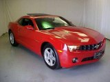 2010 Victory Red Chevrolet Camaro LT Coupe #20613697