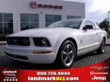 2006 Performance White Ford Mustang V6 Premium Coupe #20607051