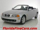 2001 Titanium Silver Metallic BMW 3 Series 325i Convertible #2059235
