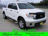 2008 Super White Toyota Tundra SR5 CrewMax #20662336