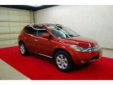 2007 Nissan Murano Sunset Red Pearl Metallic