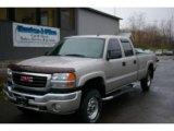 2005 Silver Birch Metallic GMC Sierra 2500HD SLT Crew Cab 4x4 #20661453