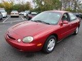 1997 Toreador Red Metallic Ford Taurus GL #20649236