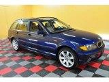 2004 Mystic Blue Metallic BMW 3 Series 325xi Wagon #20665700