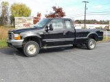 2000 Black Ford F250 Super Duty XLT Extended Cab 4x4 #20663569