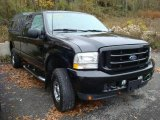 2002 Black Ford F250 Super Duty XLT SuperCab 4x4 #20660436