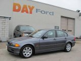 2001 Steel Grey Metallic BMW 3 Series 325i Sedan #20656044