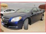 2008 Imperial Blue Metallic Chevrolet Malibu LS Sedan #20661925