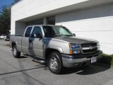 2003 Light Pewter Metallic Chevrolet Silverado 1500 LT Extended Cab 4x4 #20664095