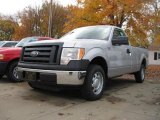 2010 Ingot Silver Metallic Ford F150 XL Regular Cab #20671309