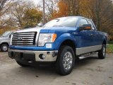 2010 Blue Flame Metallic Ford F150 XLT SuperCab 4x4 #20671315