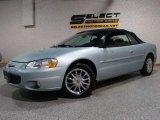 2002 Sterling Blue Satin Glow Chrysler Sebring Limited Convertible #20657540