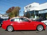 2006 Electric Red BMW 3 Series 330i Sedan #20653542
