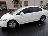 2007 Taffeta White Honda Civic EX Sedan #20671130