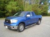 2008 Blue Streak Metallic Toyota Tundra Double Cab 4x4 #20736811