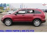2007 Tango Red Pearl Honda CR-V EX 4WD #20719104