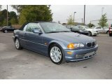 2001 Steel Blue Metallic BMW 3 Series 330i Convertible #20733682