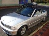 2003 Titanium Silver Metallic BMW 3 Series 330i Convertible #20730475