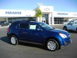 2010 Navy Blue Metallic Chevrolet Equinox LT #20735359