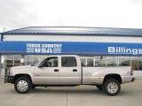 2005 Silver Birch Metallic Chevrolet Silverado 3500 LS Crew Cab 4x4 Dually #20735891