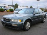 1995 Canterbury Green Metallic Acura Legend L Sedan #20723423