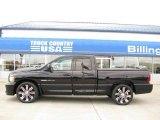 2005 Black Dodge Ram 1500 SRT-10 Quad Cab #20735883