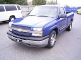 2003 Arrival Blue Metallic Chevrolet Silverado 1500 LS Regular Cab #20739318