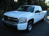 2009 Summit White Chevrolet Silverado 1500 LS Extended Cab #20724324
