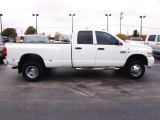 2007 Bright White Dodge Ram 3500 Sport Quad Cab 4x4 Dually #20720852