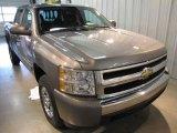 2008 Graystone Metallic Chevrolet Silverado 1500 LT Crew Cab 4x4 #20734815