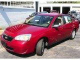 2005 Sport Red Metallic Chevrolet Malibu LS V6 Sedan #20740192